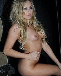 Danni King strips nude